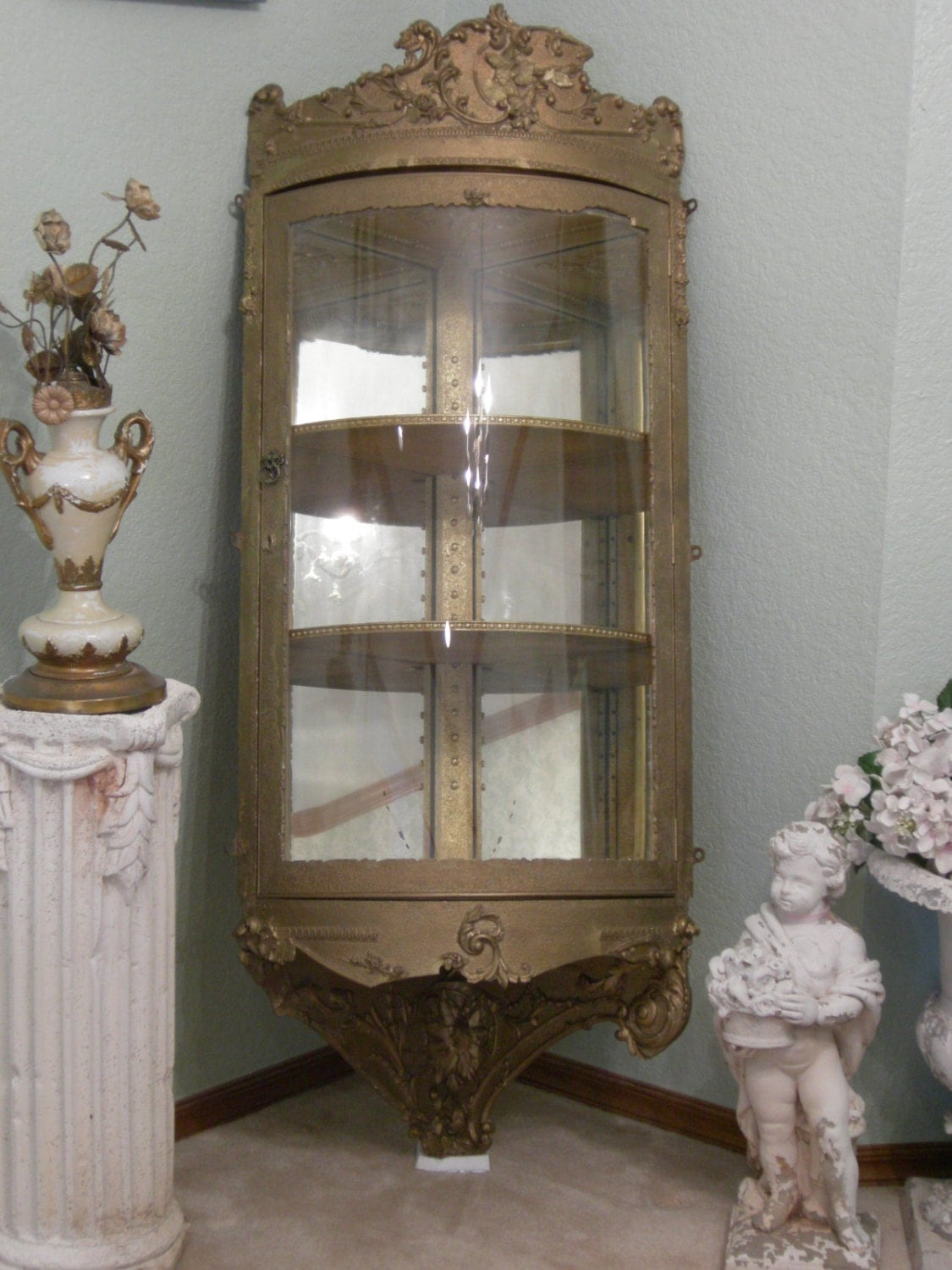 Antique Corner Cabinet Put On Layaway One Of A By