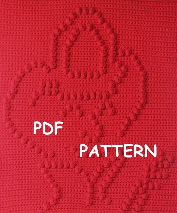 Fireman Baby Blanket  Pattern - Wall Hanging  - Baby Snuggle Blanket - Car Seat Blanket