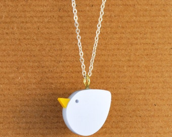 Perspex Blue Bird Necklace handmade by I Am Acrylic