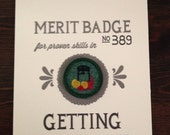 Getting Canned Merit Badge