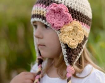 baby hat, girls hat, baby girls hat, crochet baby hat, little girls hat, girl hat, newborn girl hat
