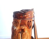 Leather Designer GOLF BAG, For DAD, Kangaroo Leather Golf Bag, Golf Club Bag, Golf Accessories, Australia