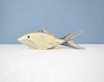 Vintage Large Abraham Palatnik Lucite Fish Figurine