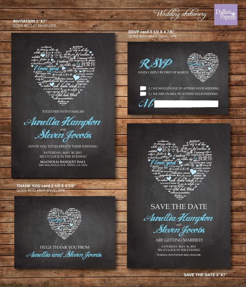 hochzeit einladung ausdrucke chalk board herz customized, Einladungsentwurf