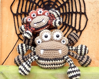 Spencer the Spider and Friends, Amigurumi Crochet Pattern