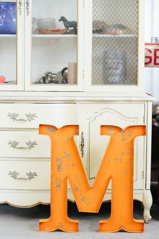Metal Letter Number Large Sign Wedding Home Decor