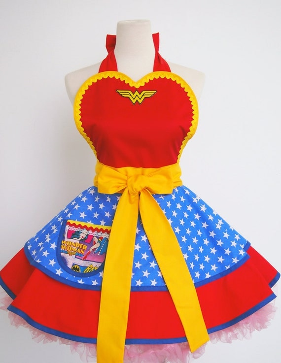 Wonder Woman apron-Only Two are Available