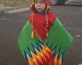 FREE SHIPPING: Made To Order Crazy Bird Hat