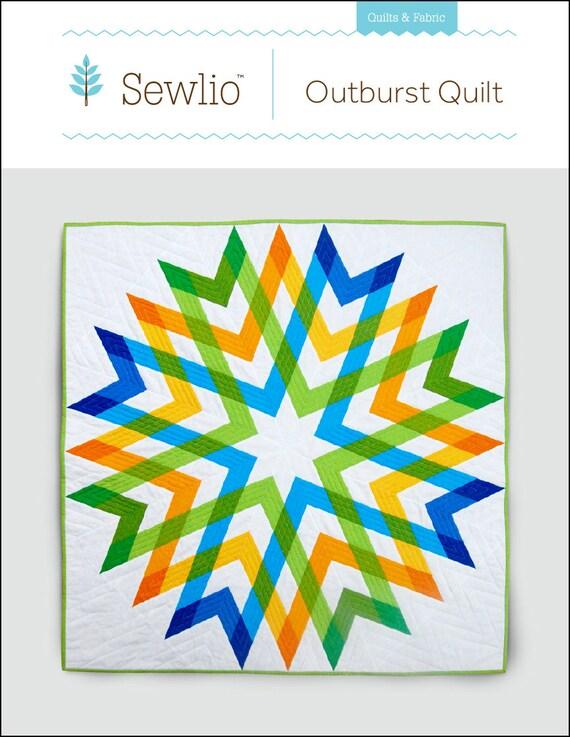Outburst Quilt Pattern