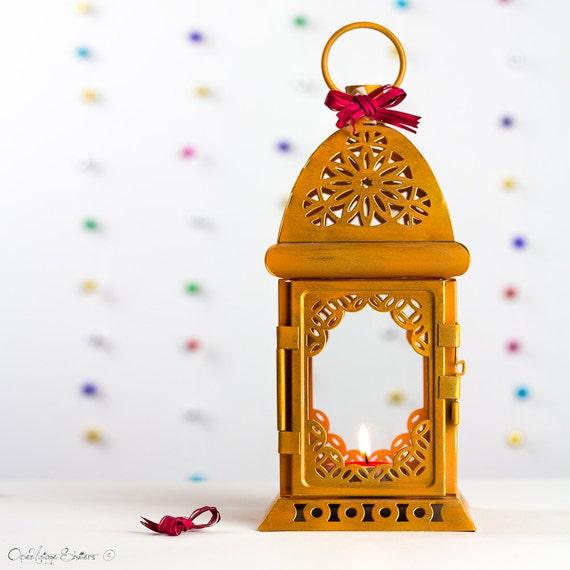 Rustic wedding candle lantern centerpiece thanksgiving