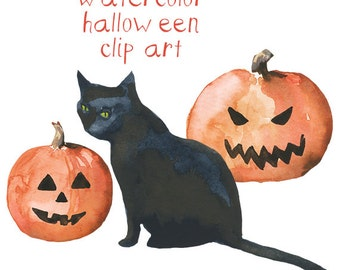 Pumpkin Clip Art, Fall Decor, Digital Clipart, Halloween, Autumn Clip Art, Trick or Treat, Pumpkin Clipart, Fall Digital Graphics,