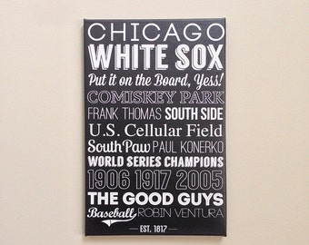 Chicago White Sox Art - Canvas or Poster