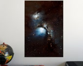 "Messier 78 nebula 19"" x 13"" Poster - Science Astronomy Wall Art - Window on the Universe series"