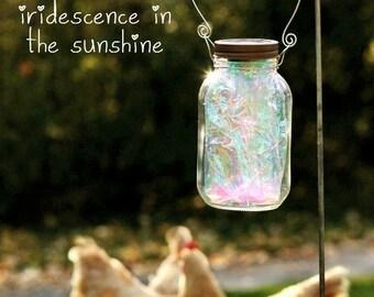 Mason Jar Lights - Fairy Garden - Solar Jar Lights - Fairy Lantern - Solar Garden Decor - Fairy Jar - Lanterns - Firefly Lantern - Mason Jar