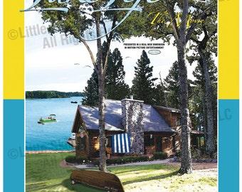 Lake Life, The Movie, 24 x 32 Movie Poster-Style Art Print