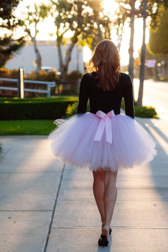 Light Pink Adult Tutu Bridesmaid Adult Tutu Wedding Tutu