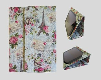 iPad Cover Hardcover, iPad Case, iPad Mini Cover, iPad Mini Case, iPad Air Case, iPad Air Sleeve, iPad 2, iPad 4, iPad 5 Postcard From Paris