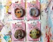 Art Girl Pin Set