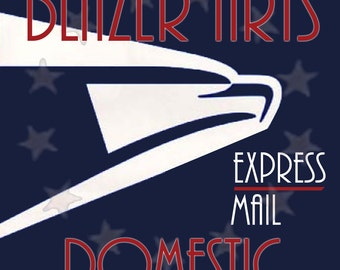 Shipping Upgrade to USPS Express Mail on Your Order from the Revolution by Blazer Arts