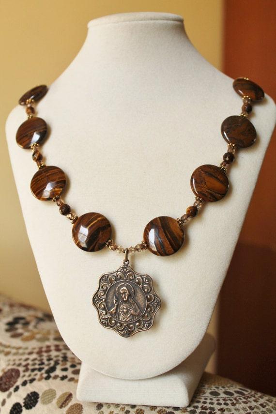 catholic necklace religious necklace s catholic