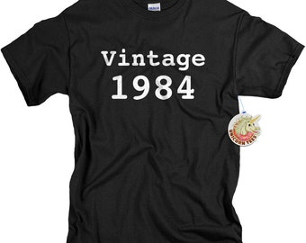 30th birthday gift for son 30th birthday shirt funny gift for guys funny t-shirt 30 birthday 1984 custom birthday gift tshirt tee men vt1984