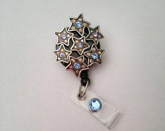 Reach for the Stars Pendant Badge Reel