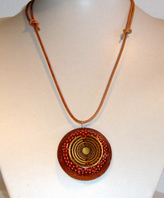 orgone orgonite pendant powerful protection by