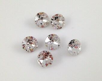 1088 ss39 Swarovski Crystal XIRIUS Chaton Round Foiled 12pcs
