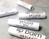 citrus basil lip balm / organic lip balm / simple lip balm / pure / natural / .15 ounce