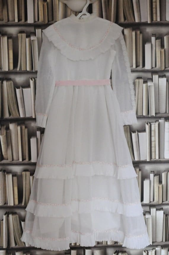 Vintage First Communion Dress Bridesmaid Flower by WillowsRoom