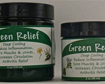 Green Relief - Anti-Inflammatory Pain Relief Salve