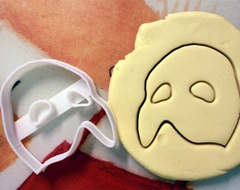 Phantom of the Opera Mask Cookie Cutter