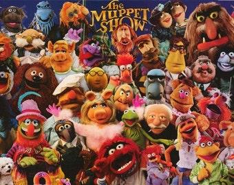 The Muppet Show Jim Henson Rare Poster