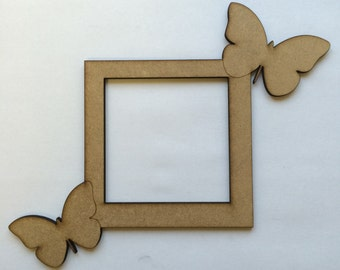 Butterfly light switch surround