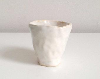 Hand Built Ceramic Cup B