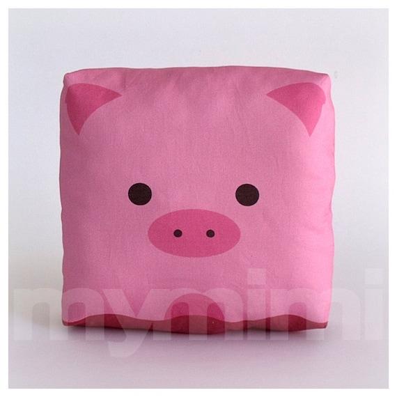 Animal Pillows For Nursery : Farm Nursery Decor Stuffed Animal Pig Pillow Animal Pillow