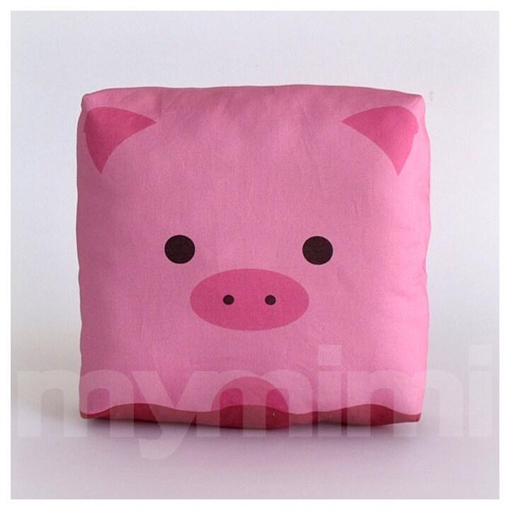 Animal Nursery Pillows : Farm Nursery Decor Stuffed Animal Pig Pillow Animal Pillow