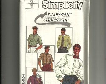 Simplicity Mens' Shirt Pattern 7015