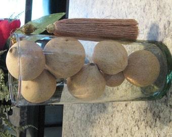 Florentine Bell Balls for bowl filler , basket filler , vase filler, accent items , home decor