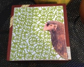 UPcycled Chicken Hand Decorated Cigar Box
