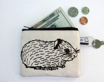 Baby Guinea Pig Change Purse