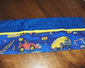 Construction pillow case