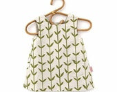 Smock Dress for 2-3 year old - Orla in Olive