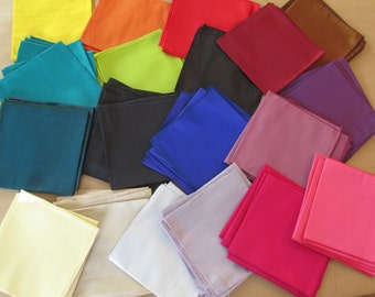 SALE Pick 3 - Ready to Ship Silk Pocket Squares