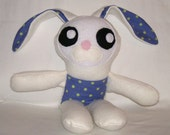 Easter Bunny Rabbit Fluffy Kawaii Cute Tooth Fairy Doll for Boy