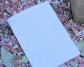 "100 EMPTY Cotton Muslin Drawstring Bags 4"" x 6"""