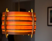 Large Birch Pendant Lamp