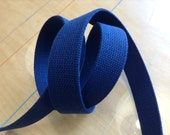 "Cotton BELTING - 1 1/2"" Wide - Navy"