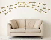 Arrow Wall Decals - Arrow Decals - Arrow Wall Mural Decal - Dorm Decals - Child Decal - Statement Decal - WD1055