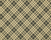 SALE  1 Yard - Denyse Schmidt Chicopee for Free Spirit Fabrics Simple Plaid - Black